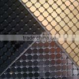 45x150cm size 3mm aluminium trimming sheet for garment accessory,well polished full colors aluminium mesh hotfix with glue