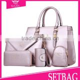 Ladies 5 Pieces in 1 Set Lash Package bags handbags fashion 2015 for Travelling lower price bags