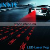 Car Led Bulb Light Laser Rear Fog Light Collision Avoidance System Keeps Safe On Foggy Raining Day