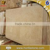 Polished beige white yellow green egypt marble with big slab