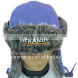 fashion design winter cap hats and snow cap with ear muffs