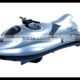 Good quality inflatable racing boat,inflatable rubber motor boat with outboard motor
