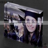factory direct sale souvenir acrylic photo block wholesale