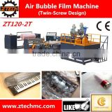 2 layers extrusion high speed compound bubble film making machine/pe air bubble film extruder