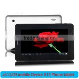 "7"" Screen Android 4.0 Boxchip A13 4GB Portable Tablet, Tablet PC Game Pad WiFi OTG Play Store"