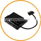 For Samsung Galaxy Tab 10.1 P7300 P7310 P7500 P7510 7 in 1 USB Card Reader Hub Connection Kit from dailyetech