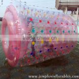 Adults inflatable water roller for lake/swimming pool TPU inflatable roller water walking
