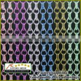 Anping free sample aluminium chain link curtains/chain mail curtain for room decoration divider