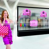EKAA 42 inch pop transparent lcd digital advertising monitor
