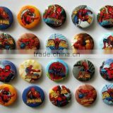 Random The Spiderman 45mm button pin badge Kids Party Bag Fillers Toys