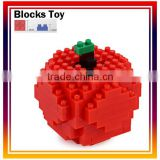 Apple 114PCS Intelligent Toy Educational plastic Building Blocks Toys For Children Learning DIY products