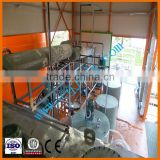 Latest Technology waste engine oil recycling plant to base oil,motor oil distillation equipment