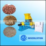 simple and easy operation small floating fish feed extruder production line/fish feed pellet production line