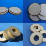 ultrasonic ceramic disc pzt plates electrical material