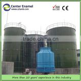 500 ton GLS silo poultry silo make of glass lined to steel bolted tanks for chicken farm