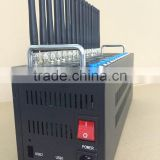 3G SMS Modem pool 16 channel bulk sms sending 16 ports sms sender AT command imei change