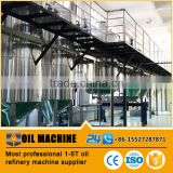 20TPD High technology soybean oil refinry plant crude oil refinery plant