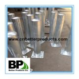 steel bollard painted yellow for sale with better quality