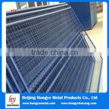 HOT! temporary wire mesh fence panel for feet/block(China manufacture&ISO9001)Chain link 6x12/Construction Sites/Crowd Contro