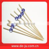 PVC Box Skewer Sets Cheap Disposable Bamboo BBQ Skewers