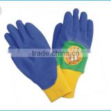 children glove with latex coated