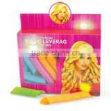 Plastic colored hair rollers