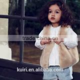 Girl Winter White Faux Fur Clothes 2016 New Brand Girls Fur Vest Waistcoat Comfortable Toddler Baby Kids Fur Vests Coat Clothes