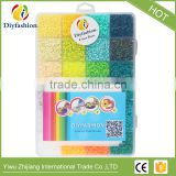 Factory directly sale Educational fuse beads toys 2.6mm box set mini hama perler fuse toy for kids