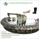 Call at 86 13751725551 Double Color PU Shoe Slipper Pouring Moulding PU Sole Making Machine
