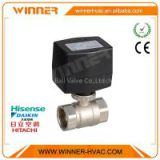 12 volt electric water valve flow control,3/4