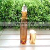 ISO standard 5ml 10ml amber essential oil glass bottle roll on bottle