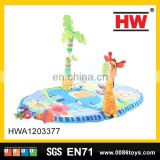 New design activity cotton toys baby play gym mat