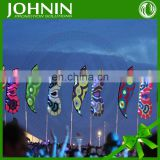 top quality outdoor promotional custom festival flags