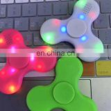 Led Bluetooth Music Fidget HandSpinner EDC Hand Tri Spinner HandSpinner EDC Toy For Decompression Plastic Toys F966