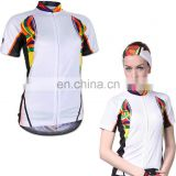 Women's bike jerseys subliamtion cycling jerseys sports wear short sleeve top wholesale