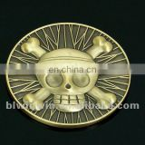 US military coins plated shiny gold with rope border