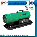 20KW Industrial Diesel Paraffin Space Heater on Wheels 68000BTU kerosene heating greenhouse warehouse workshop heater