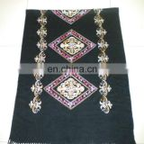 rhombus embroider scarf 170*68cm lady's scarf woman shawl