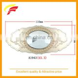 fashion zinc alloy large decorative belt buckle with colorful acrylic stone for screwed on belt