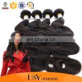 Body Wave Unprocessed Peruvian Virgin remy hair 100% Human Hair Extensions From HY Factory Outlet