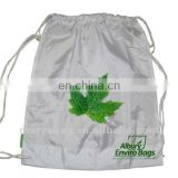 PET drawstring bag with cotton rope