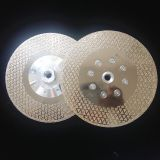 electroplated diamond saw blade / cutting disc for marble and granite