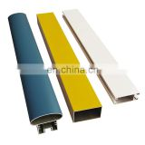 Customized Powder Coated Aluminium Extrusion Profiles plastic extrusion profile aluminum profile for picture frames