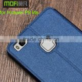 2016 MOFi Case Housing for Huawei P9 lite, Mobile Phone Coque Leather Flip Cover for P9 lite