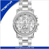 Gentlemen sports Watch japan movt quartz watch stainless steel bezel
