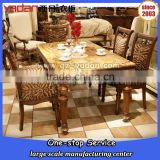 8 seater marble top dining table designs in india, dining table sale