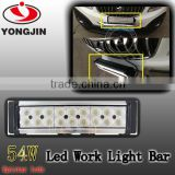 Led light bar jeep wrangler 54w led truck light bar high lumen led bulbs for 4x4 accessories