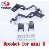 Mobile accessories stainless steel auto lamp bracket for BMW mini R