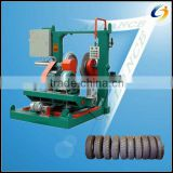 Used Tyre Retreading Machine/Inflated Tyre Grinding Machine
