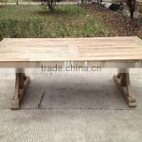 RE-1531 Reclaimed Wood Retro Furniture Antique Wooden Dining Tables                                                                         Quality Choice